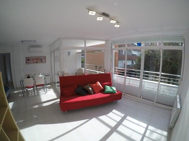 Apartamento cerca de la playa de Fenals.