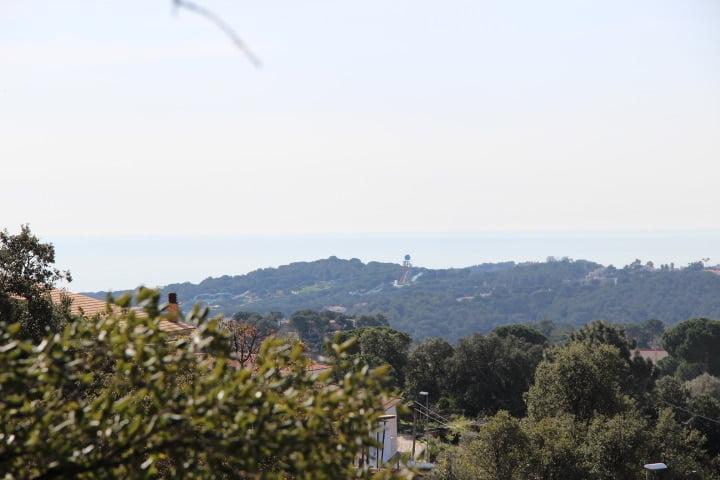 Terreno ( parcela ) con vistas al mar