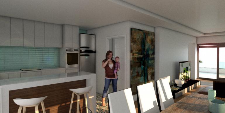 inter cocina - salon